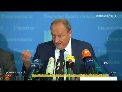 Pressekonferenz des Deutschen Bauernverbands (DBV) zu ...