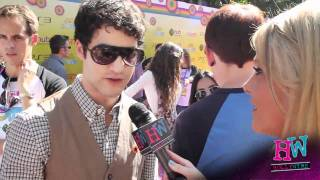 Darren Criss Chats Charity At 2011 Variety Power Of Youth Bash