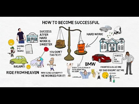 HOW TO BECOME SUCCESSFUL - Nouman Ali Khan Animated