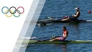 Mahe Drysdale wins gold for New Zealand in men's single sculls in a close finish in Rio 2016. Subscribe to the official Olympic ...