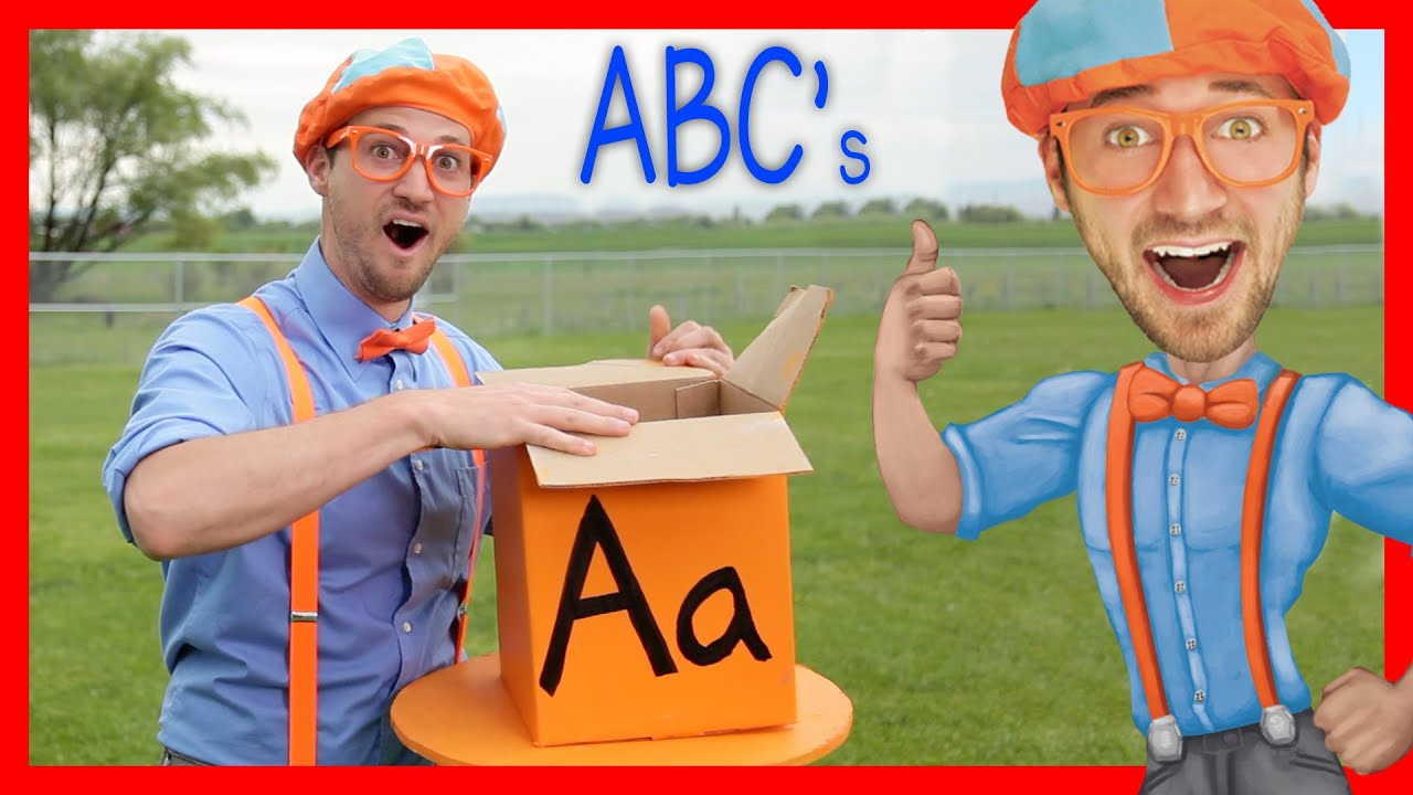 Picture of Understand The Alphabet With Blippi  ABC Letter Containers