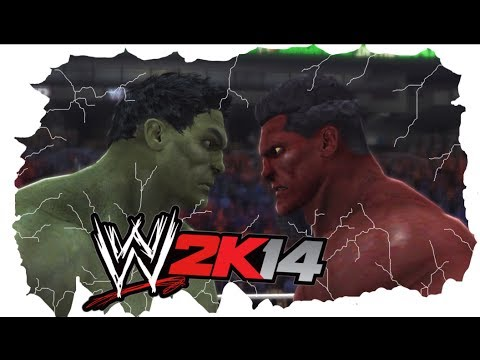 Hulk - The Incredible Hulk vs The Red Hulk in an I Quit Match. Both are controled by A.I, who will quit first? Place your bets.