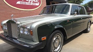 1976 Rolls Royce Silver Shadow road test & tour. I visited Garrett Classics and put together several videos on their classic cars. This beautiful Rolls Royce was part of the collection. Enjoy the video - Samspace81 Follow me - https://www.facebook.com/samspace81/