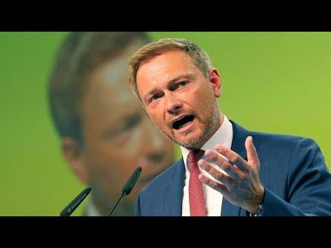 FDP-Chef Lindner wirft Merkel Zögerlichkeit vor