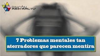 Los trastornos mentales o síndromes de comportamiento generan angustia y daños en áreas importantes de la actividad psíquica, afectando el equilibrio emocional, el rendimiento intelectual y la conducta social adaptativa. No es tan difícil de conocer una persona con trastornos mentales, puede ser un vecino, un amigo o simplemente un pariente. Sin embargo, hay algunos trastornos que no son tan comunes y son muy extraños, como los que te traemos en esta lista1 - Síndrome de París2 - Sinestesia3 - La tricotilomanía4 - Síndrome de la cabeza explosiva5 - Eretomania6 - Ceguera de movimiento (acinetopsia)7 - Acrotomofilia o Trastorno de Identidad de Integridad Corporal*** SUSCRÍBETE A MI CANAL ***Si te ha gustado este vídeo, asegúrate de suscribirte a mi canal de YouTube aquí:http://www.youtube.com/subscription_center?add_user=RinconAbstracto*** REDES SOCIALES***Twitter: https://twitter.com/RinconAbstractoFacebook: https://www.facebook.com/RinconAbstractoWebGoogle+: https://plus.google.com/+RinconAbstracto***VISITA NUESTRO BLOG***http://www.rinconabstracto.com/