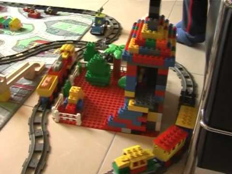 my Lego Duplo City Train | Lego Kits Video Reviews