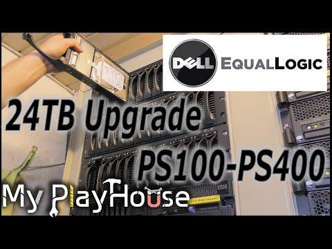 , title : '24TB Dell EqualLogic PS400E iSCSI SAN - Upgrade!! - 356'