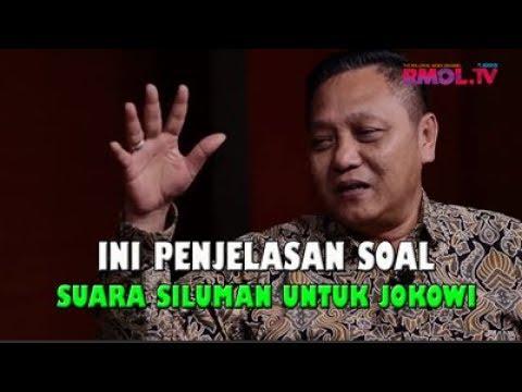 Ini Penjelasan Soal Suara Siluman Untuk Jokowi