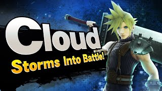 MY LIVE REACTION TO CLOUD IN SMASH BROS WII U!