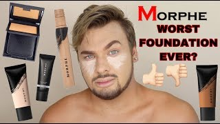 REVIEW | Roasting/Reviewing MORPHE Fluidity Foundation & Concealer