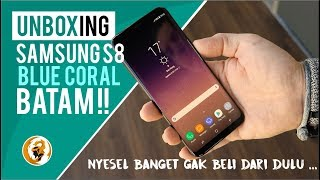 Video Unboxing Samsung S8 Batam, NYESEL BANGET gak beli dari dulu MP3, 3GP, MP4, WEBM, AVI, FLV Februari 2018