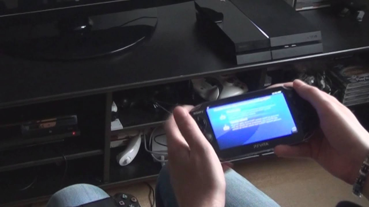 Video-item: PS4 Remote-play gedemonstreerd