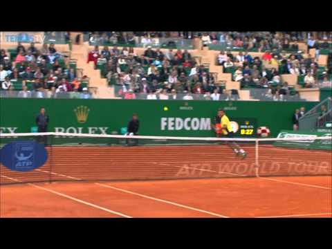 Shows - Stanislas Wawrinka's delicate touch was on display against Roger Federer in this Hot Shot from Monte Carlo. Watch live matches on TennisTV.com.