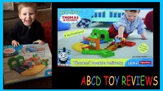 Welcome to ABCD Toy ReviewsJoin Bentley and Aubree having adventures and playing with toys. Mum and Dad also join in the fun with unboxing videos!We hope you like our channel, if there is anything you would like to see just let us know in the comments…and don't forget to subscribe! Thanks so much, Aubree, Bentley, Casey and Darren x xIn this videoMy First Thomas & Friends Thomas Double Delivery Toy Video for Kids Bentley got My first Thomas & Friends double delivery playset from Fisher Price. He picked this up from Smyths Toy store the other day and has been looking forward to opening it! Thomas & Friends™ Toddler Toy Train SetYour child can help the No.1 blue engine on his journey from Knapford Station to Wellsworth Station in Thomas' Double Delivery from Fisher-Price. When children push Thomas around this train set, they'll enjoy twice as much adventure with two destinations and two platforms for loading and unloading cargo! They can also raise and lower the crossing gate for a true railway experience. Featuring two Thomas & Friends™ locations and two areas for cargo play, Thomas' Double Delivery offers a world of imaginative fun!FeaturesIncludes full track layout, push along Thomas train, cargo car, and cargo pieceFeatures two Thomas & Friends™ destinations — Knapford Station and Wellsworth StationIncludes two areas for loading and unloading cargoChildren can raise and lower the crossing gateThomas train works on and off the tracksIf you liked this video you can watch more here…Legoland Discovery Centre by ABCD and Friends https://youtu.be/iITqVMWcAvoAlton Towers Part 2 Splash Landings Waterparkhttps://youtu.be/cQNQwnnEC6MAlton Towers Part 1 CBeebies Landhttps://youtu.be/VvDvWXhbCS4Nickelodeon Land Blackpool Pleasure Beachhttps://youtu.be/Ou9ik4qs8SoDisney On Ice 2015! Worlds of Enchantment - Ringsidehttps://youtu.be/4ZBHjvS8KPwShopkins Season 3 blind basket opening Shopkins surprise eggshttps://youtu.be/W9RNvM6nWF8Play Doh Letters Numbers N Fun ABCD Numbers 1 to
