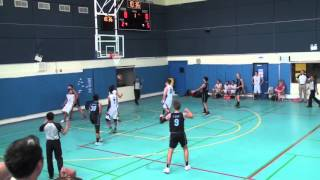 """This is the 2014-15 Highlights video of Sami Al Uariachi, a point guard currently attending The KAUST School in Thuwal, Saudi Arabia. During his sophomore year, he played for his school's U16 and U19 teams, a club in neighboring city Jeddah (Jeddah United), as well as the U16 national team of Morocco. Sami was also a guest player for CAI Zaragoza's U16 team that participated in the Spanish easter invitational.Sami holds dual nationality (German and Morocco) and played for Morocco in the recent African Championships.FIBA Africa Statistics:http://www.fiba.com/pages/eng/fa/play...Sami can be reached at: """"samialuariachi@gmail.com"""""""