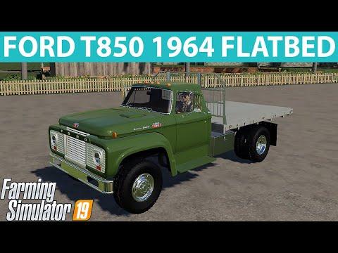 FORD T850 1964 FLATBED v1.1.0.0