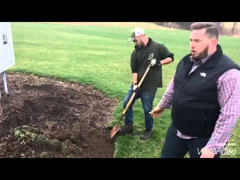 Lawn & Landscape tips - bed edging (видео)