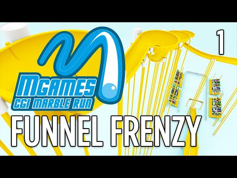 MGAMES   EPISODE ONE: FUNNEL FRENZY   CG MARBLE RUNS