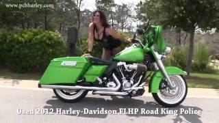7. Used 2012 Harley Davidson Police Road King Custom paint