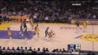 Pacers 119 @ Lakers 121 | Kobe game-winning jumper | 01-09-09