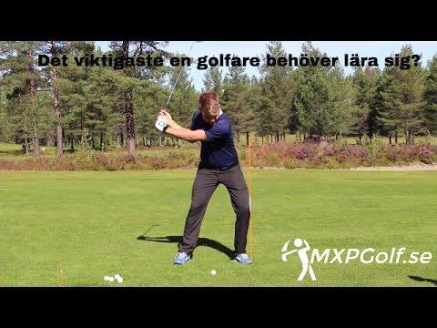 Det viktigaste en golfare behöver lära sig - MXPGolf.se