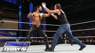Dean Ambrose vs. Seth Rollins: SmackDown, June 25, 2015