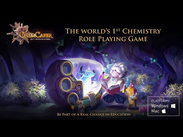 ChemCaper: Act I - Petticles in Peril Game Trailer