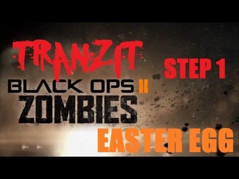 Tranzit Easter Egg/Breakdown Step 1: The Turbine, Bus Part, & Teddy Bear [Black Ops 2 Zombies]
