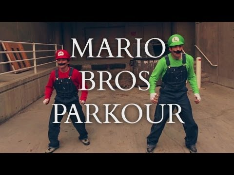 parkour - Mario and Luigi doing what they do best: freerunning. Check out the complete song here! http://www.youtube.com/watch?v=TZ9iPFx-IFg Here's where you can downl...