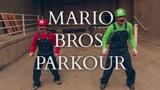 Super Mario Brothers Parkour [In Real Life]