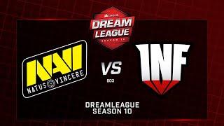 Na`Vi vs  Infamous, DreamLeague Minor, bo3, game 1 [Mortalles & Adekvat]