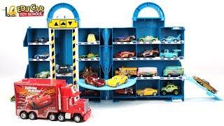 Learning Color Special Disney Pixar Cars Lightning McQueen Mack Truck RobocaPoli for kids car toys
