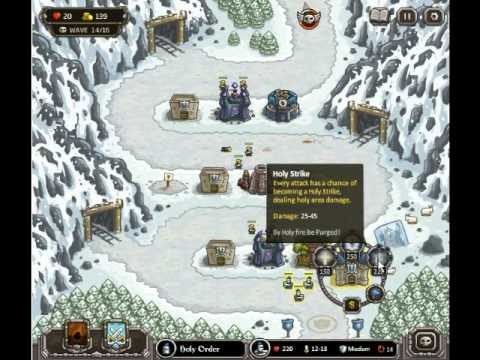 Kingdom Rush Walkthrough - Levels 6-8 - 3 Stars