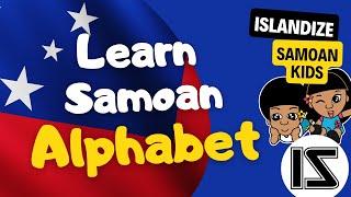 Laki & Lani learns the Samoan Alphabet in a fun way.
