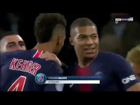 PSG vs Lyon 5 0 Highlights & Goals 07102018 HD