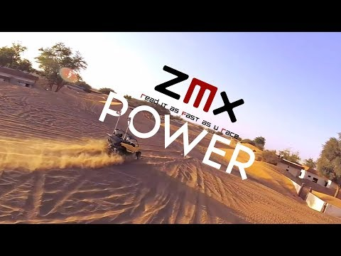 REVIEW & FLIGHT. The BEST Freestyle Motors ZMX FinX30. Abandoned Village FPV Freestyle