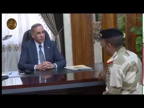خالد العبيدي يلتقي قائد الفرقة السابعة عشرة ويبحث معه الإسراع بإعادة النازحين الى منازلهم
