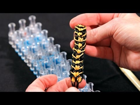 How to Make a Tiger Stripe Bracelet | Rainbow Loom