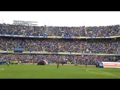 Video - RECIBIMIENTO / Boca - Banfield 2015 - La 12 - Boca Juniors - Argentina