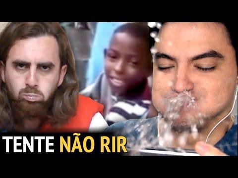 Video DESAFIO TENTE NÃO RIR - COM ÁGUA NA BOCA! [+13] download in MP3, 3GP, MP4, WEBM, AVI, FLV January 2017