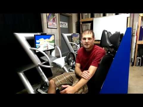 James Elterman's Custom Twin Arcade Racer