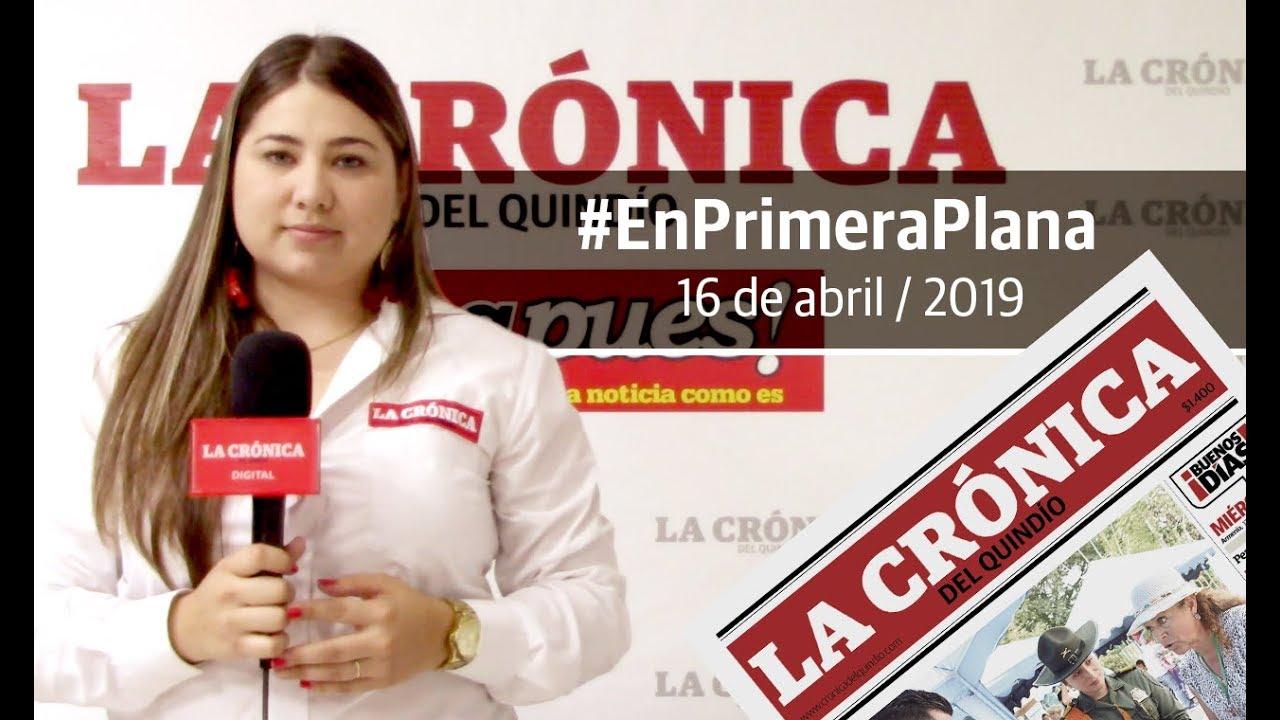 En Primera Plana: lo que será noticia este miércoles 17 de abril