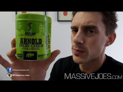 Arnold Series Iron Cre3 Creatine Supplement Review – MassiveJoes.com RAW REVIEW MusclePharm Cre 3