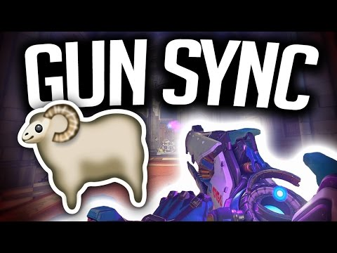 Overwatch Gun Sync - Beep Beep I'm A Sheep