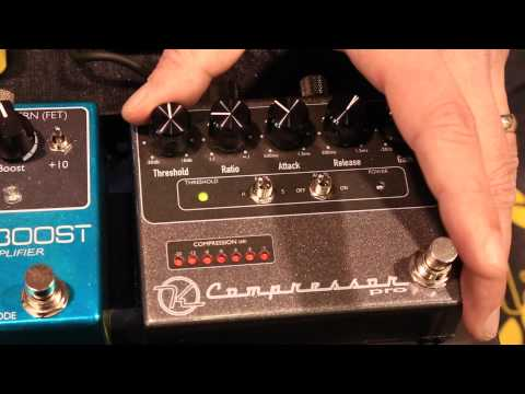 Winter NAMM 2015 Keeley Electronics