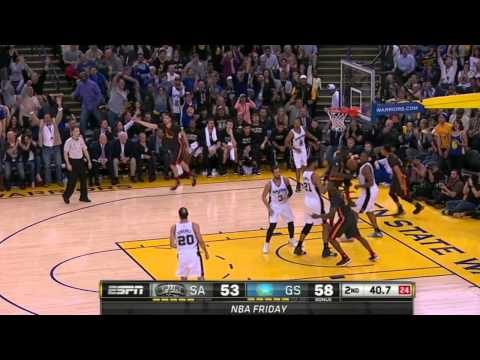 Video: Stephen Curry Goes Behind His Back for the Fancy Layup