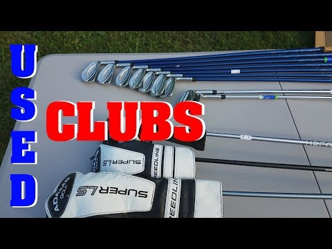3Balls.com and Global Golf - Used club unboxing and grading