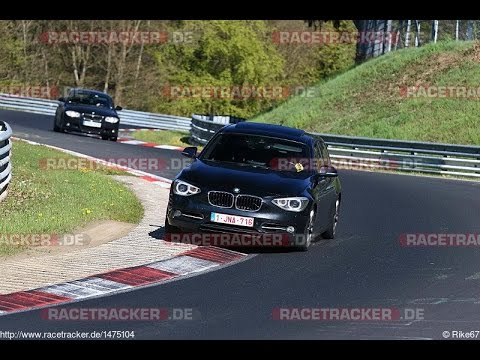 BMW 120d Nurburgring | Nordschleife BTG 8:58 (06.05.2016 green hell driving days) (видео)