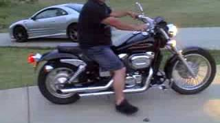 7. 2002 Honda Shadow Spirit