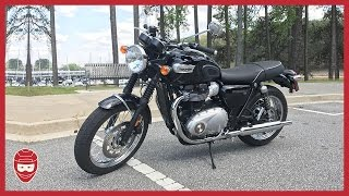 7. FIRST TEST RIDE: Triumph Bonneville T100